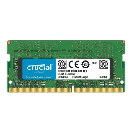 Memória RAM color Verde  16GB 1x16GB Crucial CT16G4SFD8266