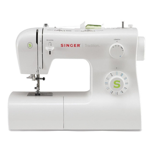 Máquina de coser recta Singer Tradition 2273 portable blanca 220V - 240V