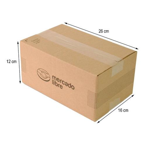 Caja Carton E-commerce 26x16x12 Cm Paquete 25 Piezas C03