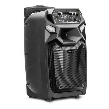 Caixa de som Frahm CM 350 portátil com bluetooth  preta 90V/240V