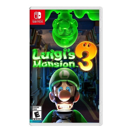 Luigi's Mansion 3 Standard Edition Nintendo Switch Físico