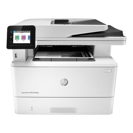 Impressora multifuncional HP LaserJet Pro M428DW com wifi 110V - 127V branca