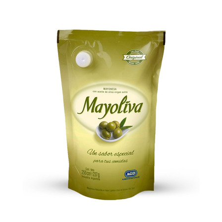 Mayonesa Mayoliva sin TACC en doy pack 250ml