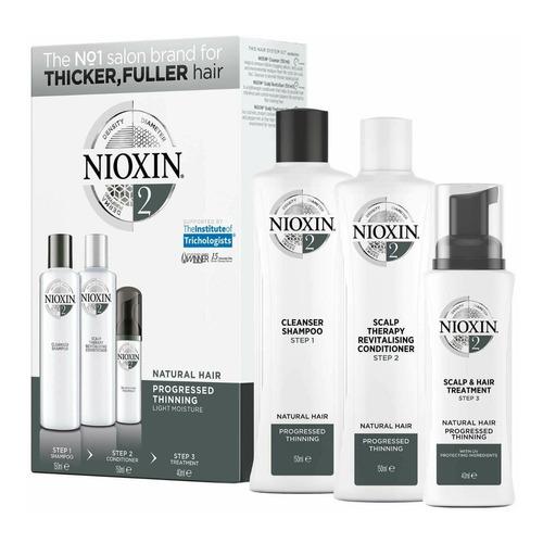 Nioxin 2 Kit Para Caída Del Cabello 3 Productos