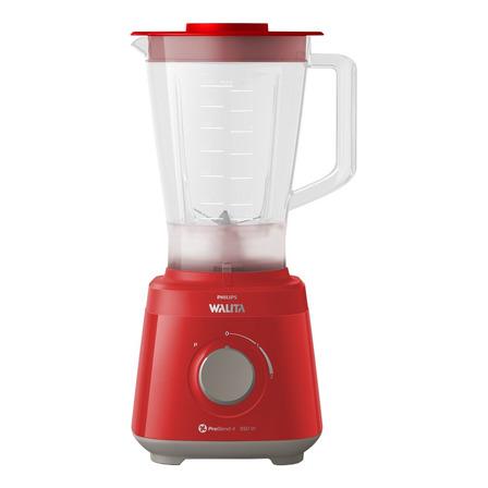 Liquidificador portátil Philips Walita Daily Collection RI2110 2 L vermelho com jarra de plástico 110V