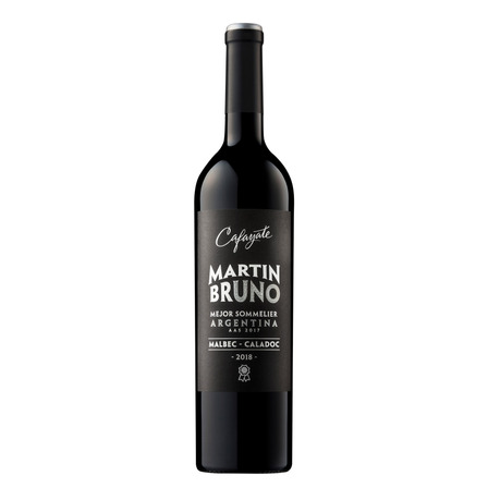 Vino tinto Malbec, Caladoc y Cabernet Franc Cafayate Bruno Malbec bodega Etchart 750ml