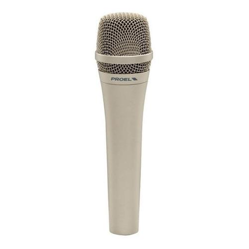 Microfono Dinámico Proel Dm585 Cardioide Simil Shure Sm58 D5