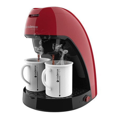 Cafeteira Cadence Single Colors CAF21 vermelha 220V