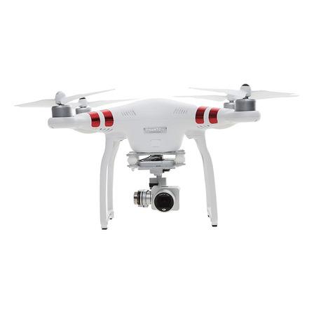 Drone DJI Phantom 3 Standard com câmera 2.7K branco 2.4GHz