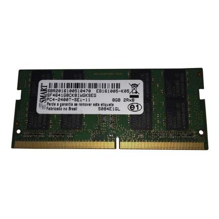 Memória RAM  8GB 1x8GB Smart SF4641G8CK8IWGKSEG
