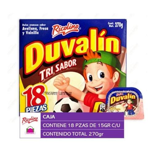 Ricolino Duvalin Trisabor 18 Piezas