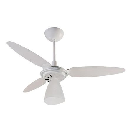 Ventilador de teto Ventisol Wind Light  branco com 3 pás de plástico, 96cm de diâmetro 127V