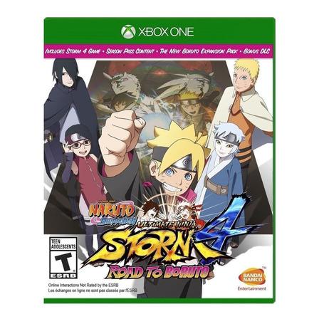Naruto Shippuden: Ultimate Ninja Storm 4 Road to Boruto Físico Xbox One Bandai Namco Entertainment