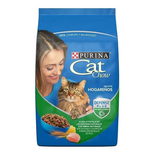 Alimento Cat Chow Defense Plus Hogareños para gato adulto todos los tamaños sabor mix en bolsa de 9kg