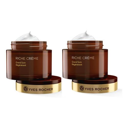 Yves Rocher Crema Facial Extra Regeneradora Dia Noche 2 Pzas