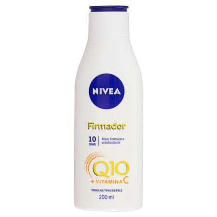 Loção Nivea Firmador Q10 + Vitamina C em frasco 200 ml