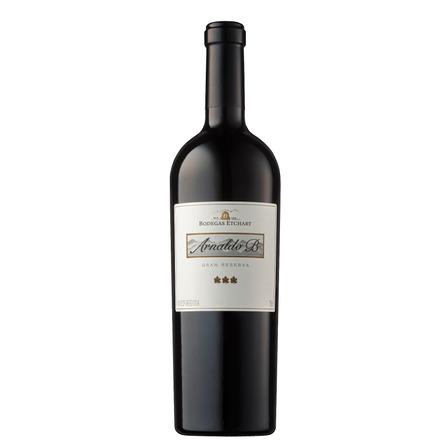 Vino tinto Malbec y Cabernet Arnaldo B. Gran Reserva bodega Etchart 750ml