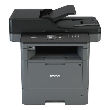 Impresora multifunción Brother  DCP-L5650DN 220V - 240V gris y negra