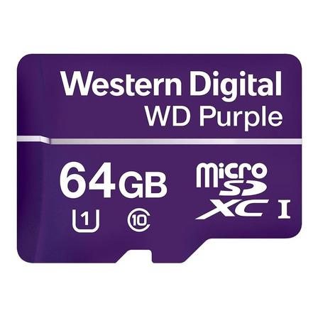 Cartão de memória Western Digital WDD064G1P0A WD Purple 64GB