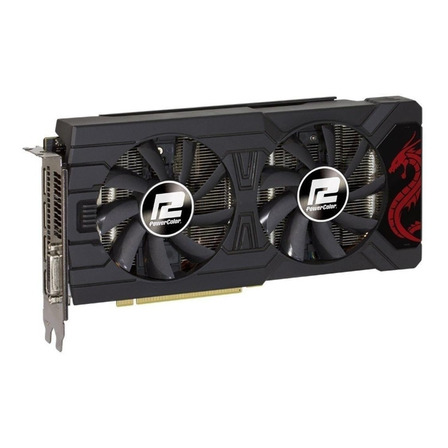 Placa de vídeo AMD PowerColor  Red Dragon Radeon RX 500 Series RX 570 AXRX 570 4GBD5-DHDV3/OC OC Edition 4GB