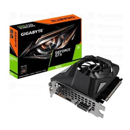 Placa de vídeo Nvidia Gigabyte  GeForce GTX 16 Series GTX 1650 GV-N1656OC-4GD OC Edition 4GB