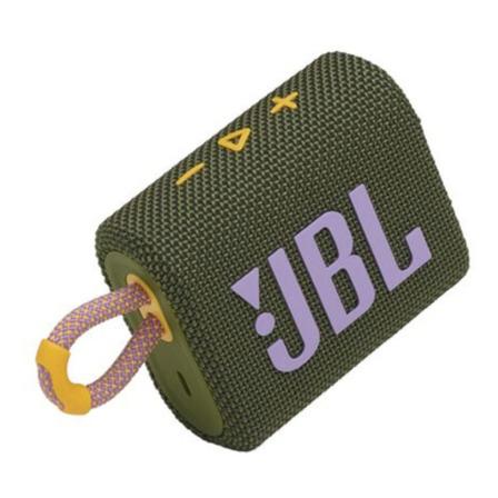 Parlante JBL Go 3 portátil con bluetooth green