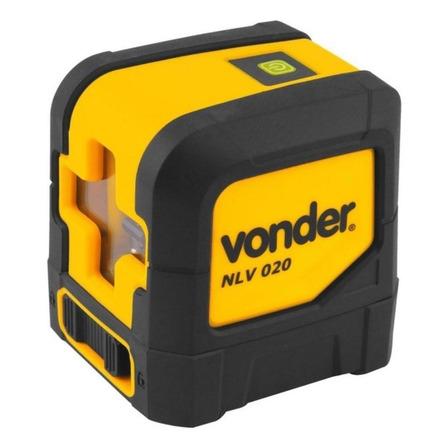 Nível laser de linhas cruz Vonder NLV 020 20m