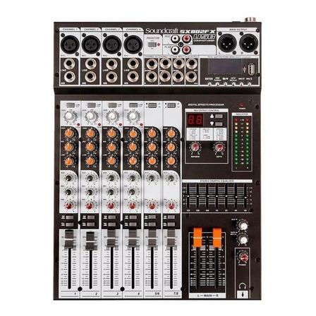 Console  Soundcraft SX802FX USB  de mistura 127V/220V