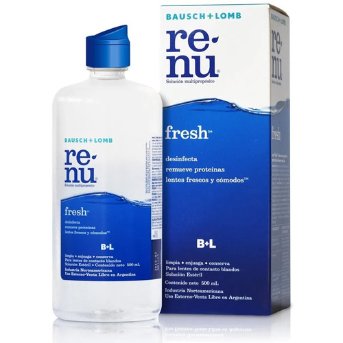 Renu Fresh 500 Ml.solución Multiproposito Lentes De Contacto