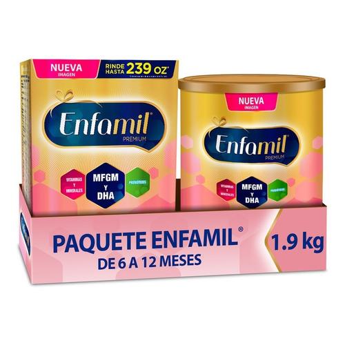 Fórmula Infantil Enfamil Etapa 2, 6-12 Meses, Paquete 1.9 Kg