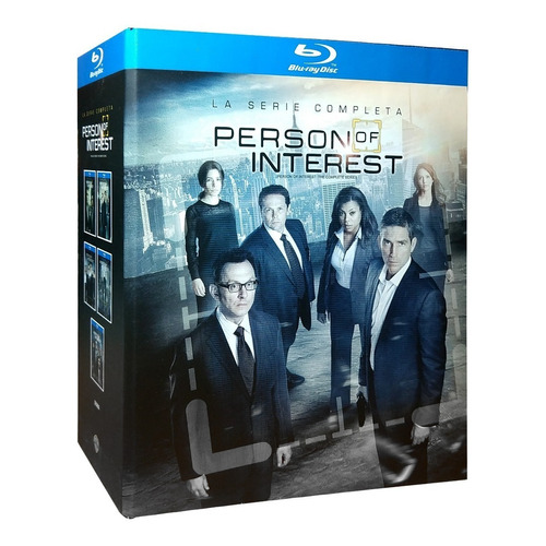 Person Of Interest Vigilados Temporadas 1 2 3 4 5 Blu-ray