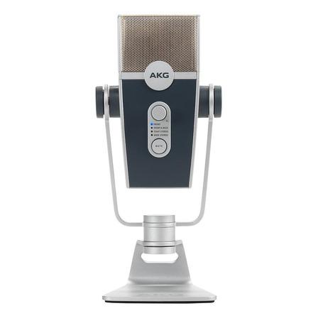 Microfone AKG Lyra condensador  multi-padrão prata