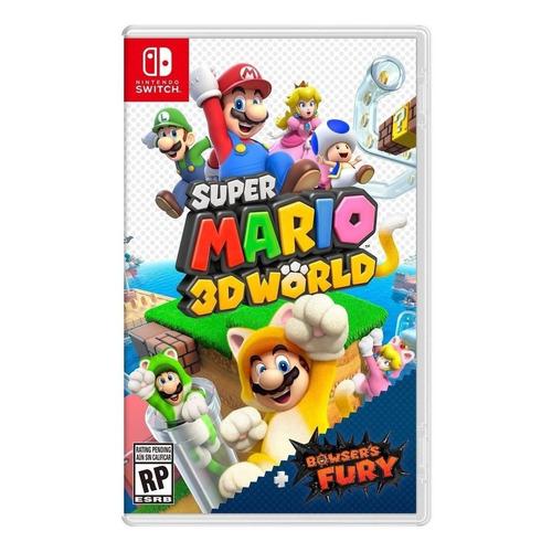Super Mario 3D World + Bowser's Fury Standard Edition Nintendo Switch  Físico