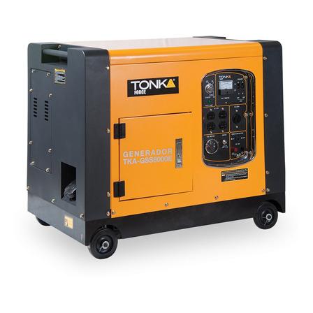 Generador portátil Tonka TKA-GSS8000E 7000W 110V/220V