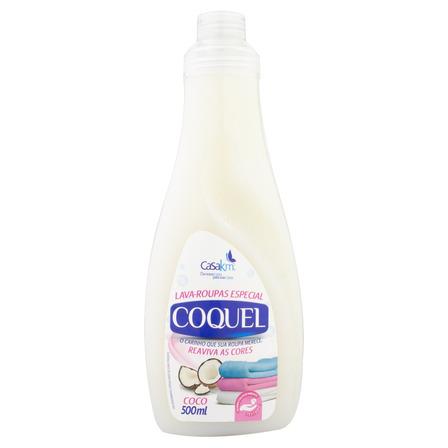 Sabão líquido Coquel Coco frasco 500ml