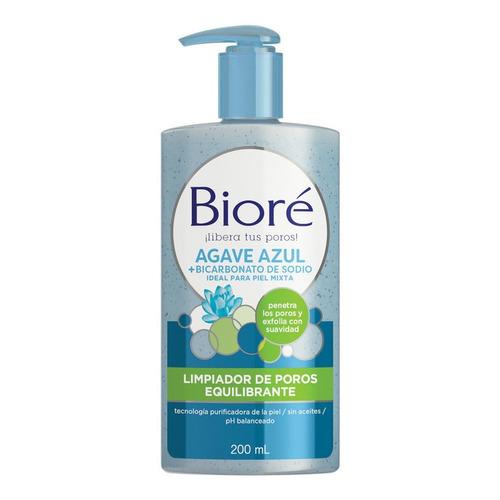 Bioré Limpiador Equilibrante Agave Azul+bicarbonato De Sodio
