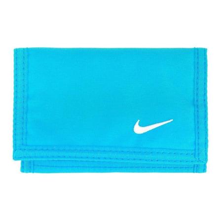 Billetera Nike Basic turquesa poliéster