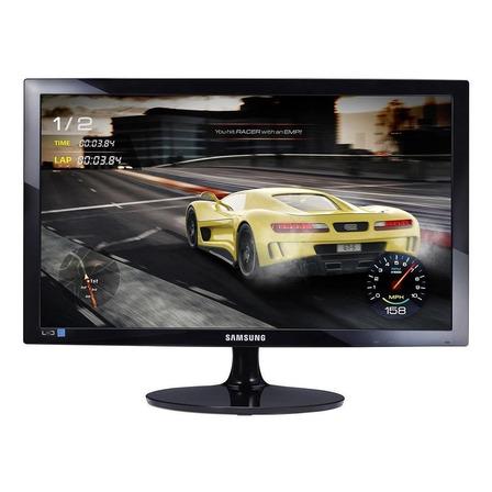 "Monitor gamer Samsung S24D332H led 24"" preto 100V/240V"
