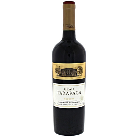 Vinho Chileno Tinto Cabernet Sauvignon Gran Tarapaca 750ml