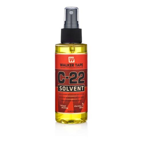 Solvente C-22 Walker Tape 118ml Removedor Protesis Capilar