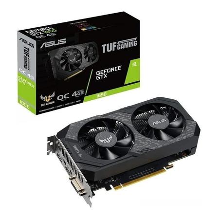 Placa de vídeo Nvidia Asus  TUF Gaming GeForce GTX 16 Series GTX 1650 TUF-GTX1650-O4GD6-P-GAMING OC Edition 4GB