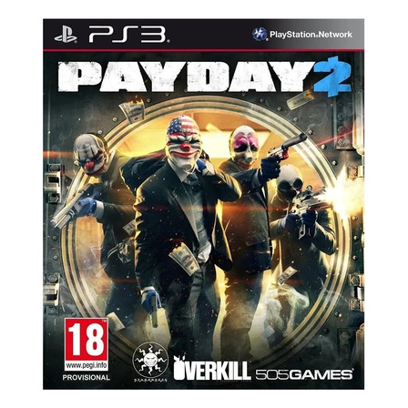 Payday 2 505 Games PS3 Digital