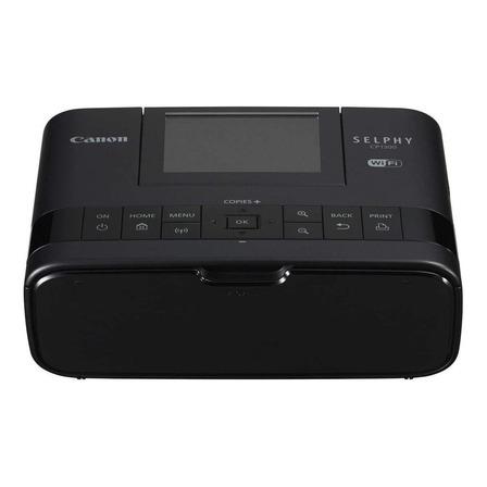 Impressora a cor fotográfica Canon Selphy CP1300 com wifi 100V/240V preta