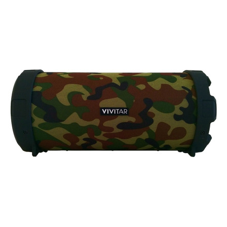 Parlante Vivitar Fabric Collection Bluetooth Tube Speaker portátil con bluetooth camuflado