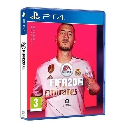 FIFA 20 Standard Edition Físico PS4 Electronic Arts