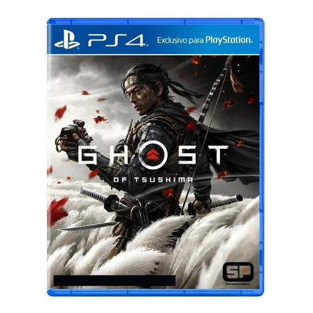 Ghost of Tsushima  Standard Edition Físico PS4 Sony