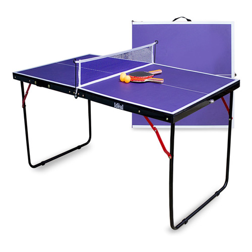 Mesa De Ping Pong Mini + Red + Paletas + Pelotas