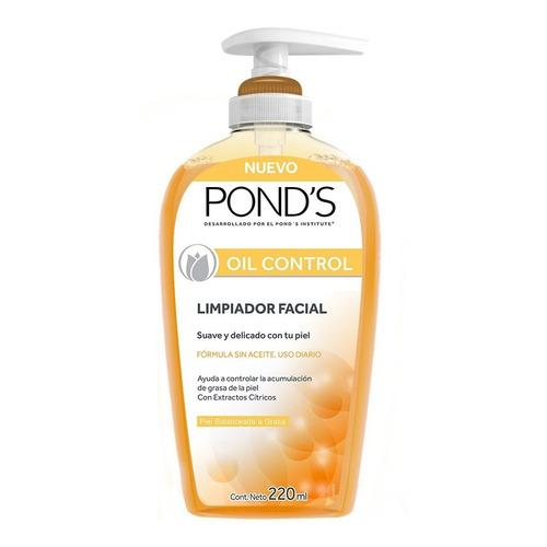 Limpiador Facial Oil Control Piel Balanceada A Grasa Pond's