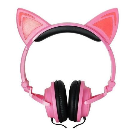 Fone de ouvido Exbom HF-C22 rosa