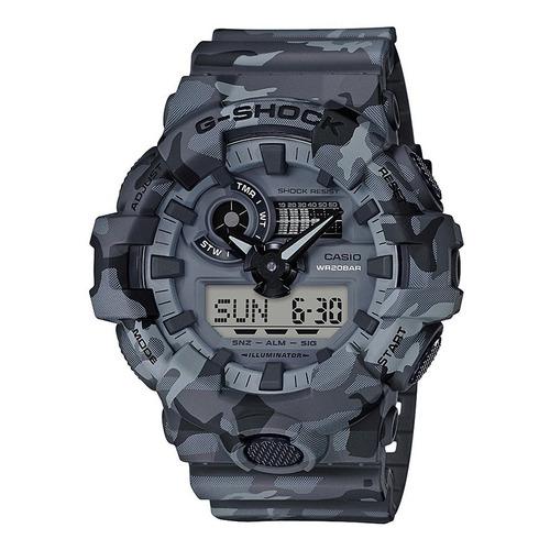 Reloj Casio G-shock Digital Analógico Camo Hombre Ga-700cm
